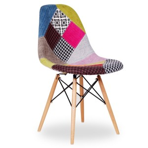 Silla TOWER WOOD - PATCHWORK edition dsw