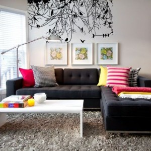 Vinilo decorativo BLACK BIRDS