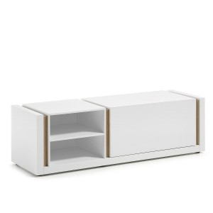 Modulo TV QUOR 140 - Lacado Blanco