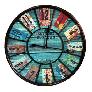 Reloj decorativo de pared BLUEBOOD 58