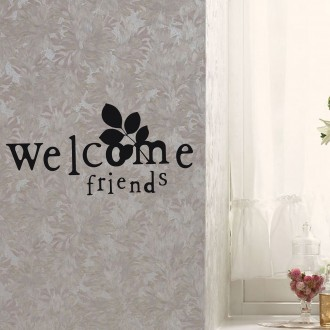 Vinilo decorativo WELCOME FRIENDS