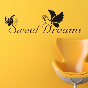 Vinilo decorativo SWEET DREAMS