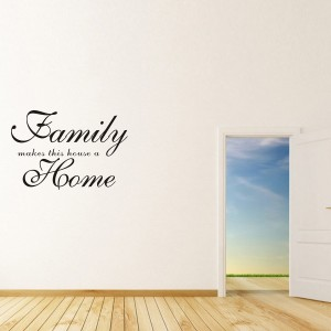 Vinilo decorativo FAMILY