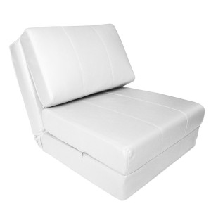 Sofa cama dise o convertible en tapizado de piel polipiel for Sofa cama polipiel