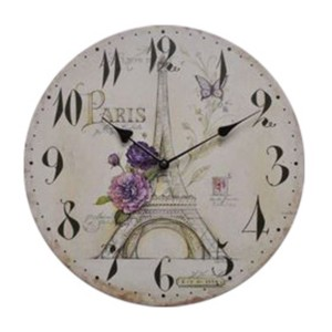 Reloj decorativo de pared BEAUTIFUL PARIS 34