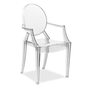 louis ghost philippe starck transparente