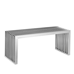 Banco STEEL BENCH MERY - Acero inoxidable