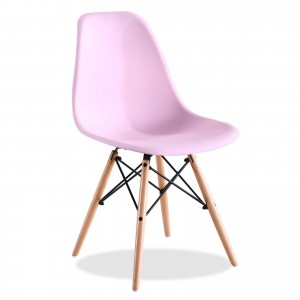 sillatea.com Silla Eames DSW tower Style - Rosa claro Charles & Ray Eames