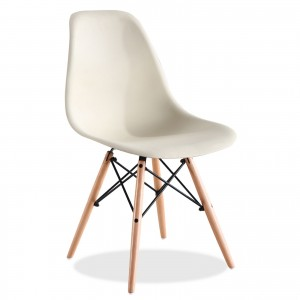 Silla TOWER WOOD - Beige - DSW Style