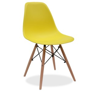 Silla TOWER WOOD - Verde- EAMES DSW Style