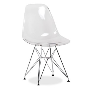 Silla Eames DSR tower Style - CLEAR edition - Transparente