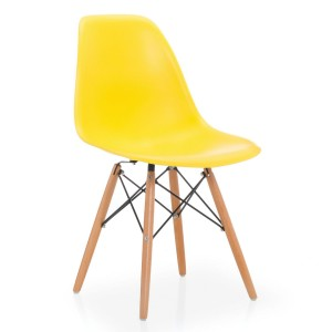 Silla TOWER WOOD - ALTA CALIDAD - Amarillo claro - DSW Style