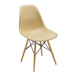 Silla TOWER WOOD - ALTA CALIDAD - Amarillo trigo - DSW Style