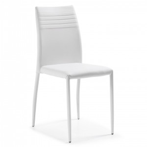 Silla BERLIN - polipiel Blanco