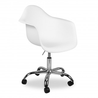 Silla de oficina Charles TOWER ARMS PACC Style - Blanco