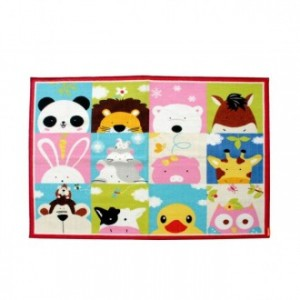 Alfombra infantil ANIMALS - nylon