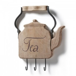 Colgador decorativo TEA - madera Natural