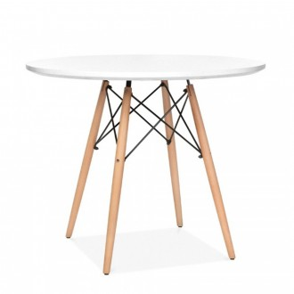Mesa eames TOWER BEAT DINING 100 - Blanco