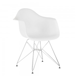 Silla TOW METAL ARMS - Blanco
