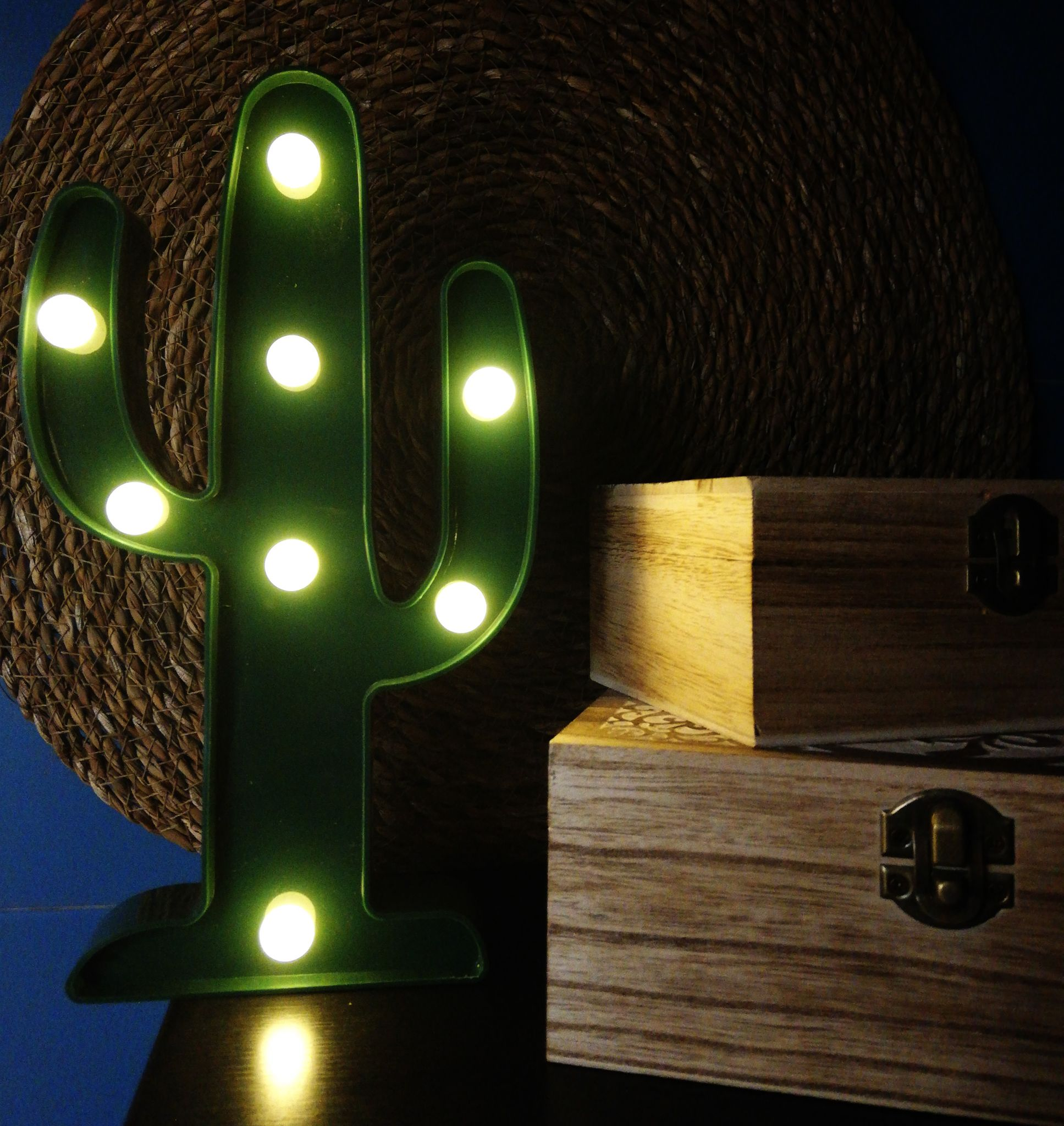 Cactus decorativo GREENI iluminación LED
